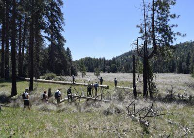 Heritage Mens Retreat hike Spiritual Development
