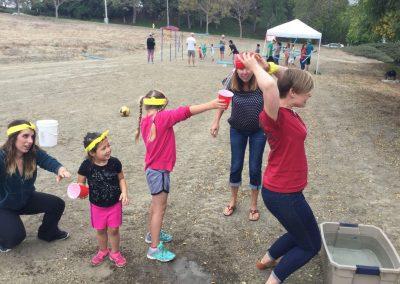 Fun in the sun San Clemente Church Olympics