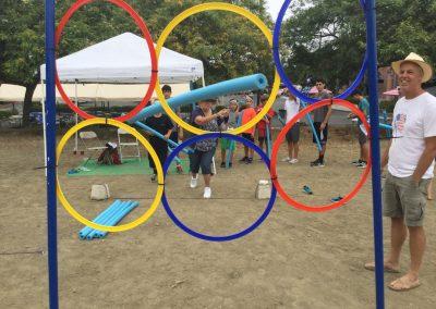 Olympic Rings Heritage Church Olympics